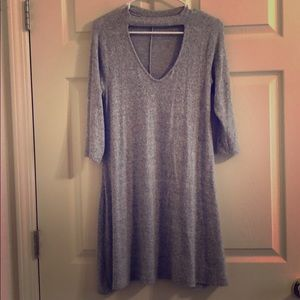 Grey dress/ never worn. Very soft